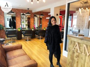 Amour hair salon view